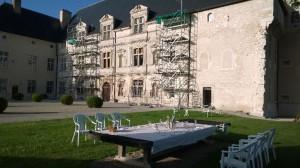 Lehrgang Pfingsten 2014 auf Château Montbras in Frankreich